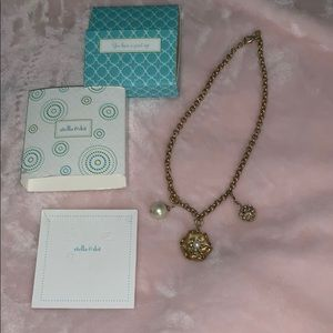 Stella and Dot Charlotte Charm necklace